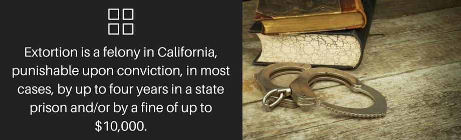 Extortion Is A Felony
